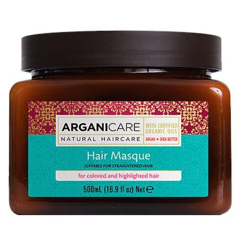Маска для окрашенных и обесцвеченных волос с маслом Арганы ArganiCare (АрганиКеа) 500 мл