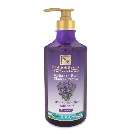 Увлажняющий крем-гель для душа Лаванда Health & Beauty (Хэлс энд Бьюти) 780 мл