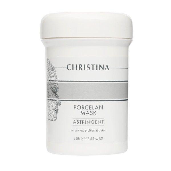 Поросуживающая фарфоровая маска для лица Christina (Кристина) 250 мл