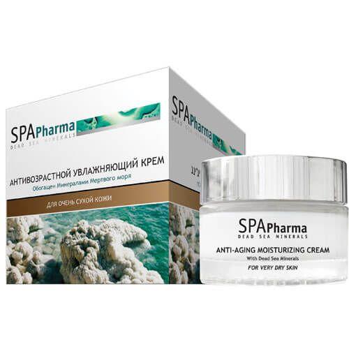 Антивозрастной увлажняющий крем SpaPharma (Спа Фарма) 50 мл