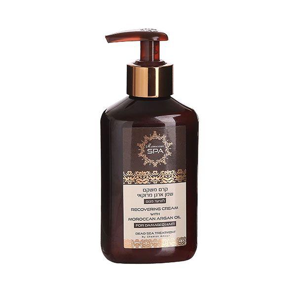 Крем для волос восстанавливающий с маслом марокканского аргана Shemen Amour (Шемен Амур) 250 мл